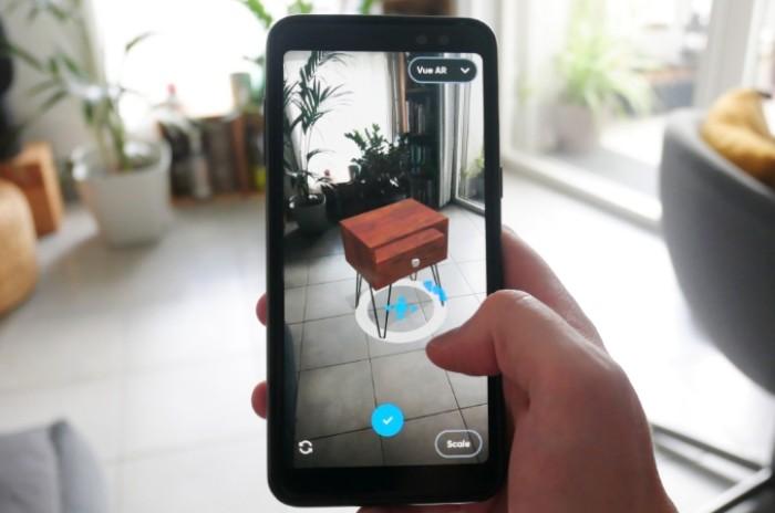 3D furniture designed with Moblo, free app for DIY